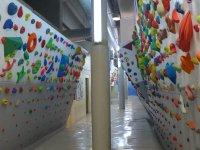 Walls of the Rocodromo de Leganes