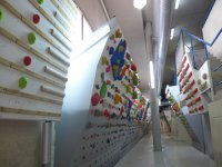 Indoor rocodromo in Leganes