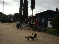 Agrupados para pedalear