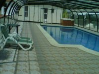 Heated pool to relax