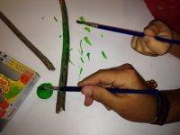 Pintando ramitas