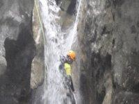 bajando cascadas
