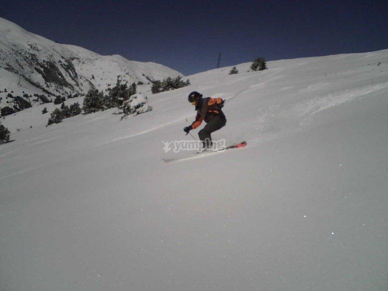 Aprende esquí con los mejores