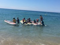 Peques learning sup in Salou