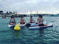 Sup yoga sulla Costa Dorada