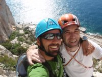 Guided classical climbing in Alicante