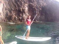Paddle surf a Cala de Lanzarote