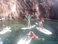 Pagaia nei migliori angoli di Lanzarote