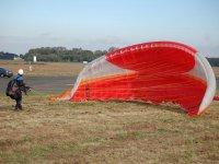 Preparazione del volo in parapendio