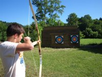 Disfrutando del tiro con arco
