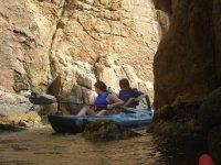 皮划艇探险
