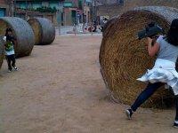 dispara y corre