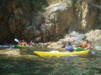 皮划艇游览