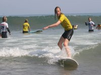 在任何级别冲浪课程沙冲浪课程练习