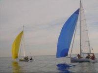 Navegando con barcos de vela
