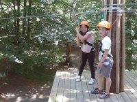 Peques plataforma de aventura en Otxandio