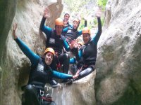 canyoning in acqua
