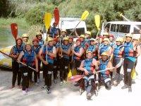 Rafting en el rio Cabriel