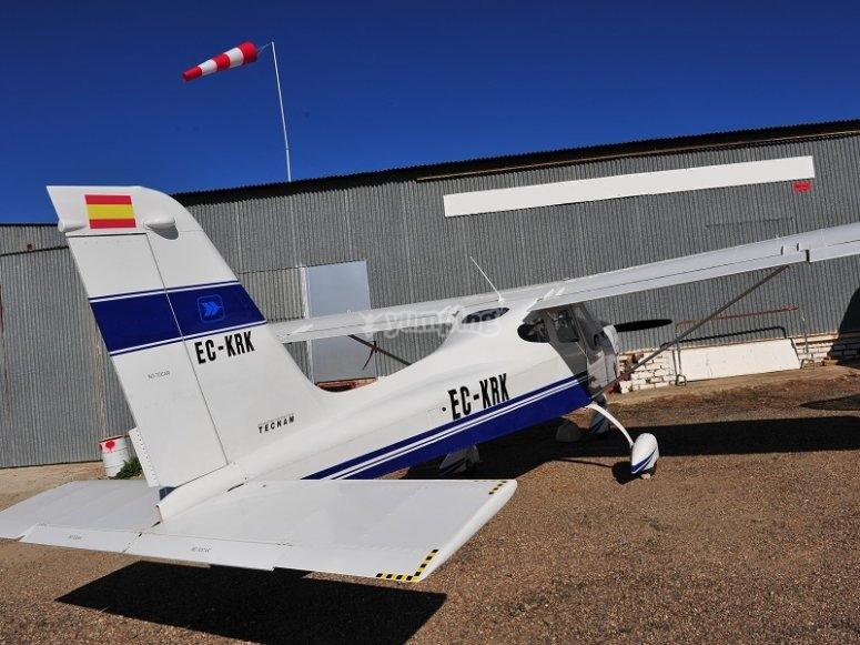 Prepared to take-off