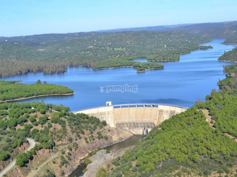 Dam s views from the air