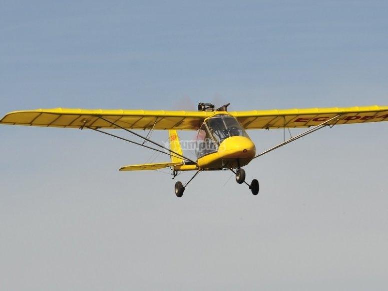 超轻型飞行