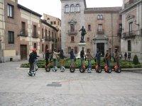 llegando al viaducto de Segovia