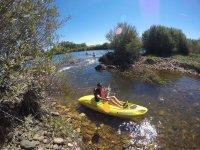Salidas en kayak en el Guadiana