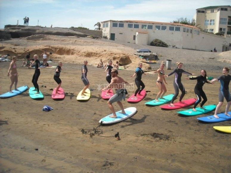 Ecco come si fa il surf
