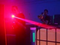 Etichetta laser per interni