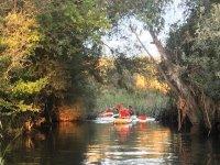 Rutas en kayaks por el Guadiana