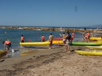 Kayaking routes in Cambrils