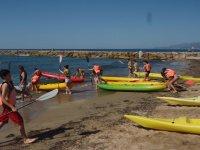 Kayaks in Tarragona