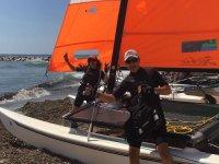Sailing classes in catamaran