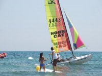Sailing and paddle surf lessons