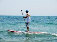 Paddle surf teacher