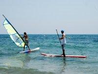 桨冲浪SUP宣称风和学生的教授