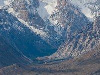 的盖塔内斯峡谷道路峰