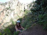 溪降塔霍隆达塔霍隆达铁索攀岩登山