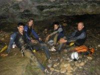 Un descanso en la cueva