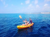 Kayak stabile e sicuro