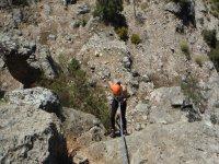 Ascendiendo por la montana