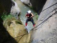 Rápel canyon