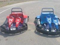Karts biplaza adulto y menor