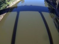 Vistas del agua desde el puente