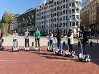 Visiting Bilbao by a Segway