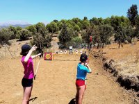 Shooting targets with shapes