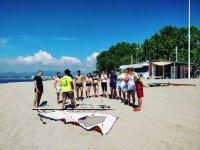 Lezioni sulla spiaggia