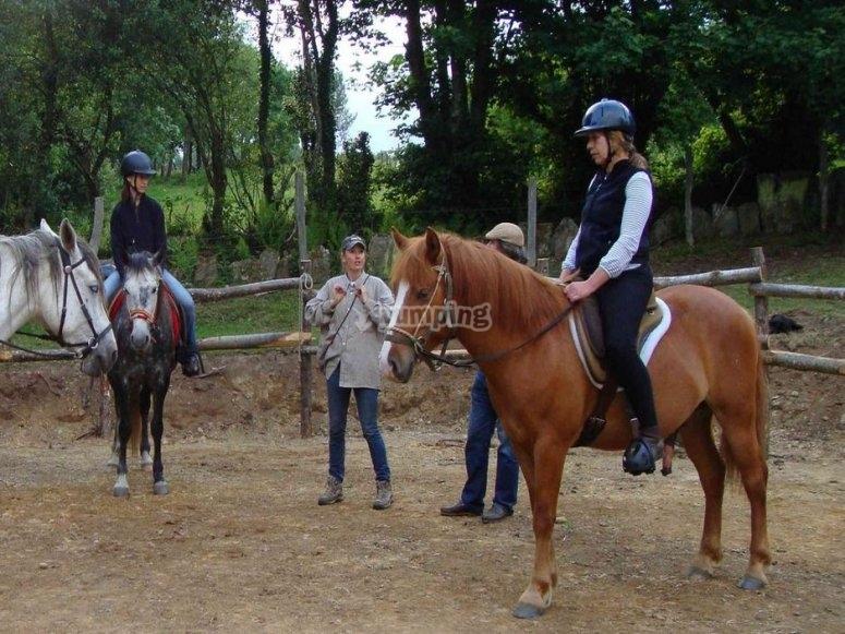 Actividades a caballo