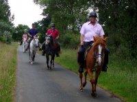 En ruta con los caballos