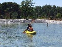 Navegando en el lago